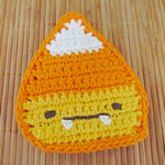 Candy Corn Tawashi Pattern